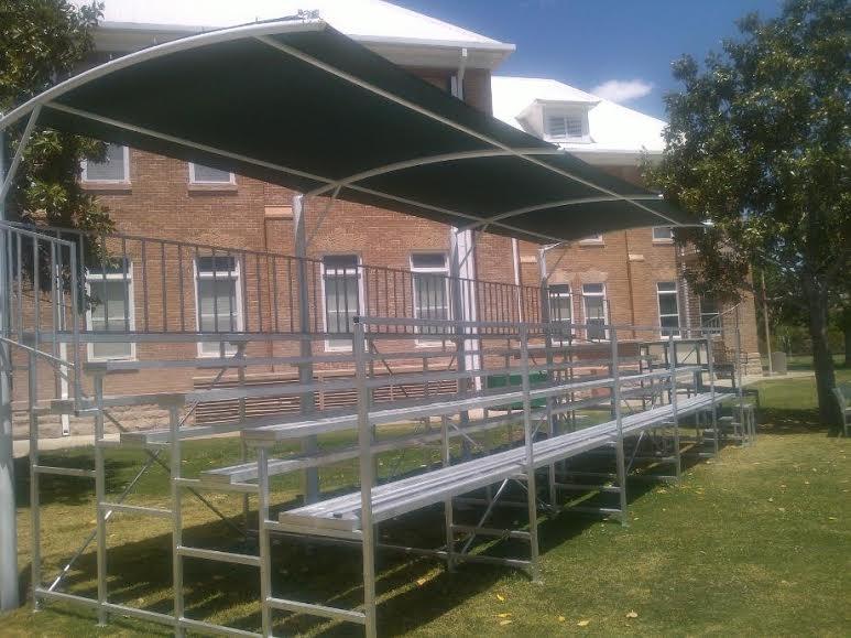 Cubierta o techo curvo cubiertas para parques - Cubiertas para techos ...