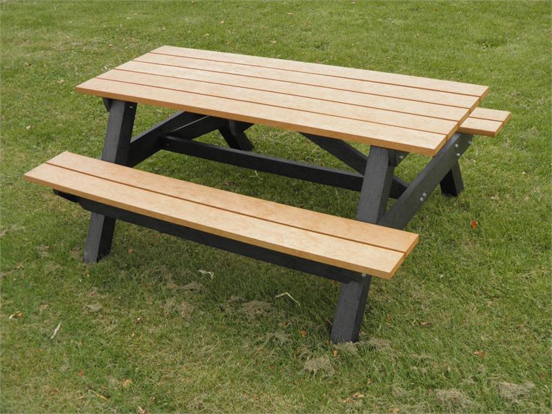 Mesa picnic madera pino mesas de picnic y cafetera - Aki madera tratada ...
